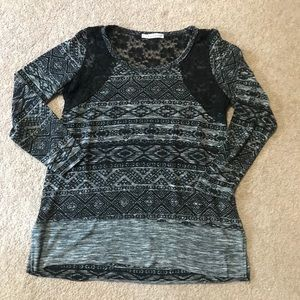 Maurices Plus size lace tunic shirt size 1